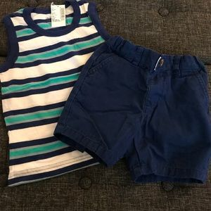 🚨The Children's Place 18-24M Tank and Shorts